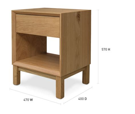 bedside table dimensions oslo bedside table bedroom furniture hunter furniture