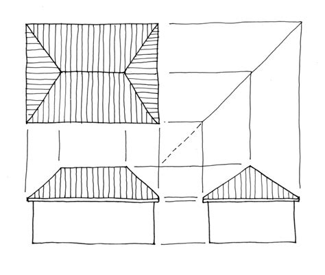 roof pattern drawing hip roof storage shed plans 171 merciful80kna