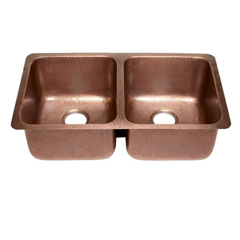 undermount copper kitchen sink sinkology rivera luxury series undermount solid copper 32
