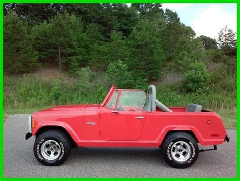 Jeep 4wd 1971 Jeep Commando 4wd 4x4