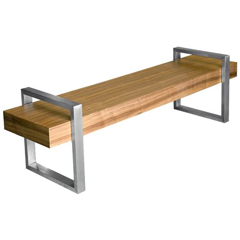 return bench gus modern return bench in walnut eurway