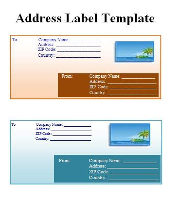 address sticker template label templates free word s templates