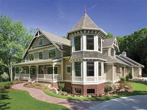 house plans and design modern queen anne house plans