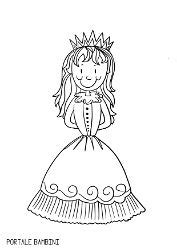 Queen Coloring Pages (Free to Print) | Portale Bambini