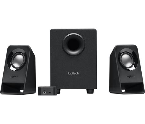 Best Small Speakers For Home Audio Logitech Z213 Compact 2 1 Stereo Speaker System