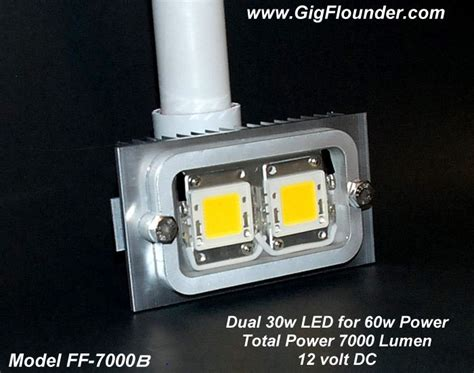 flounder gigging lights for boat flounder boat lights 60w 12v led lights for