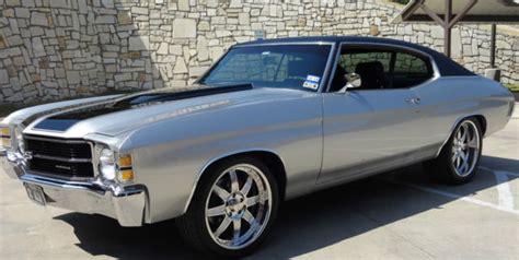 1970 Chevelle Vinyl Top Kit by Seller Of Classic Cars 1971 Chevrolet Chevelle Silver