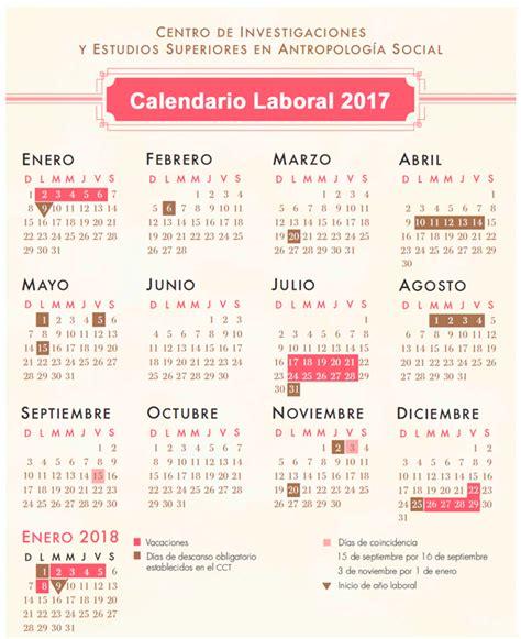 dias festivos imss 2017 calendario de festivos en imss 2017 calendario laboral