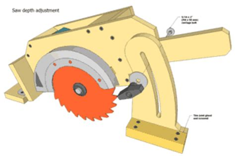 circular saw table mount table saw plans preview