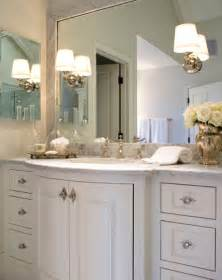 Bathroom Cabinet Hardware Ideas by Curved Bathroom Vanity Traditional Bathroom