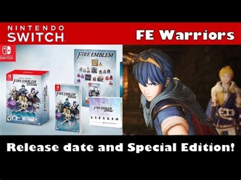 Sale Nintendo Switch Emblem Warriors Limited Edition emblem warriors release date special edition fps options nintendo switch