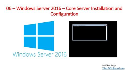 windows server 2016 administration fundamentals deploy set up and deliver network services with windows server while preparing for the mta 98 365 and pass it with ease books 06 windows server 2016 server installation and