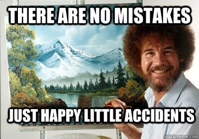bob ross painting mistakes how much does advertising cost a definitive