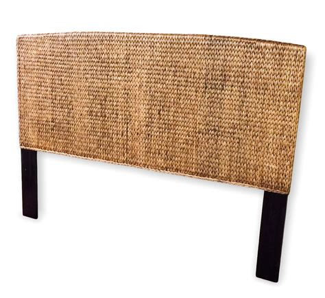 king rattan headboard seagrass king headboard miramar