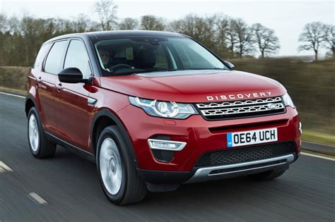 land rover discovery sport 2017 red land rover discovery sport review
