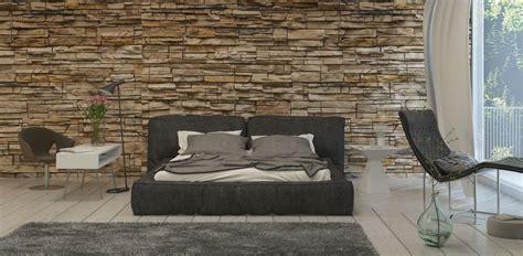 da letto con parete in pietra parete da letto in pietra stili e soluzioni