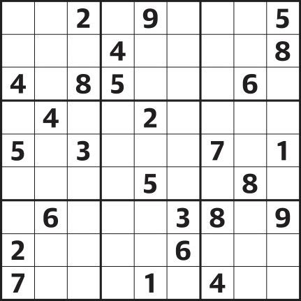 Sudoku 4 123 Hard Life And Style The Guardian