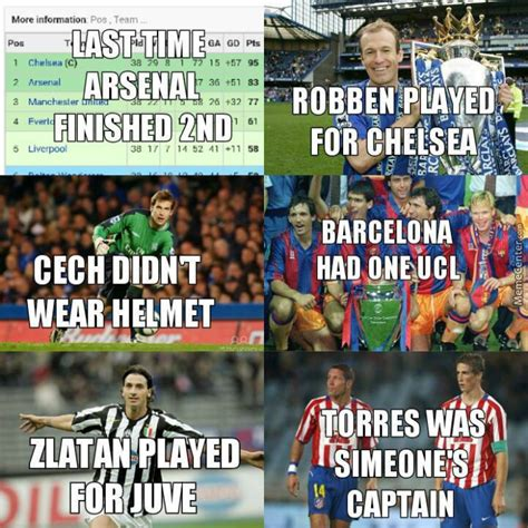 Football Memes Arsenal - image gallery epl memes