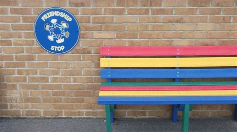 friendship bench school 37 best images about buddy benches and friendship seats on