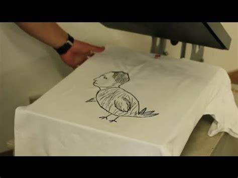 Put Drawing On T Shirt