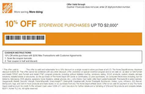 home depot and lowes coupons | coupon codes blog