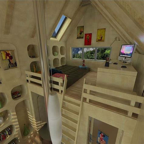 Inside Tiny Houses Tiny House Floor Plans With Loft Small Tiny House Plans With A Loft