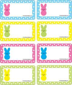 easter name tags template free printable easter bunny name tags the template can