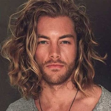 hairstyles guys blonde curly hair 50 smooth wavy hairstyles for men men hairstyles world