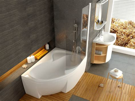 raumspar badewanne raumspar badewanne mit sch 252 rze 150 x 105 cm und duschbereich