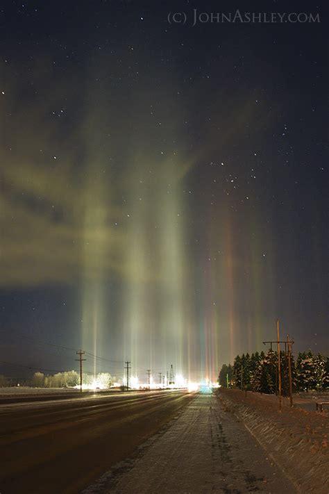 pillars of light around the world what the heck