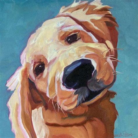 painting golden retrievers best 25 golden retriever ideas on origin of dogs pet and print print