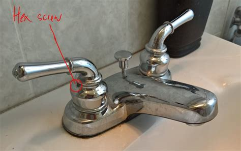 Delta Faucet Handle Removal by Leaking Bathroom Faucet Stripped Hex Diy Forums
