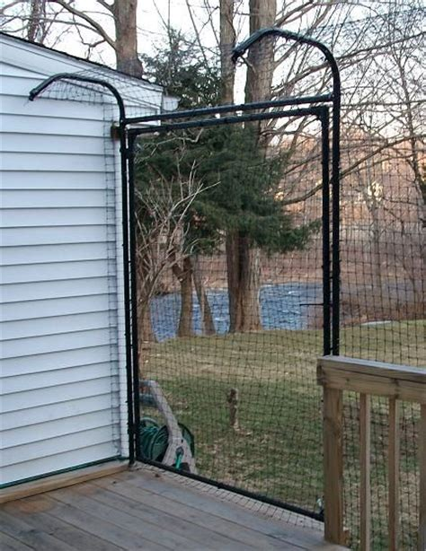 25 best ideas about cat fence on top cats