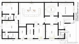 blueprint house plans 1 kanal house plan gharplans pk