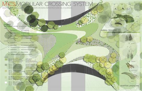 design a garden competition new materials wildlife crossing structures arc