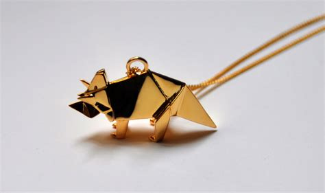 Origami Jewels - origami jewellery by arnaud la76 design