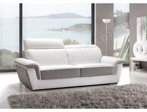 canape cuir blanc et gris canap 233 cuir blanc gris id 233 es d images 224 la maison
