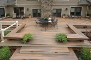 gestaltung terrasse baltimore fiberon deck