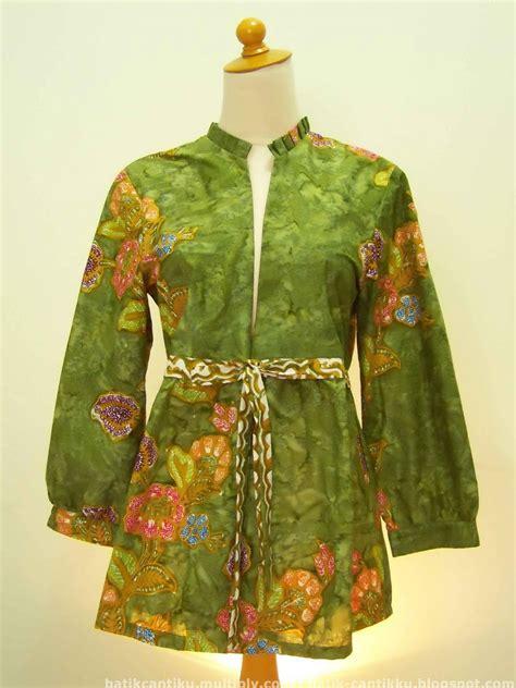 contoh model baju batik wanita terkini style contoh model baju batik model baju
