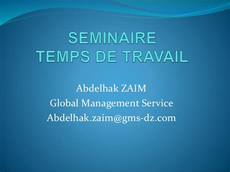 Ie Global Mba Linkedin by Formation Temps De Travail Algerie