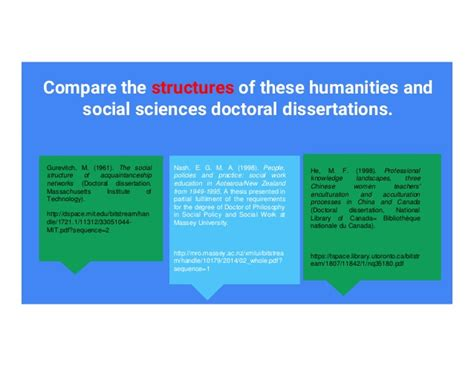 social science dissertation structure planning your dissertation thesis structure
