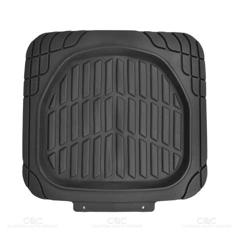 rubber sting mat black dish all weather hd rubber mats package 5pc