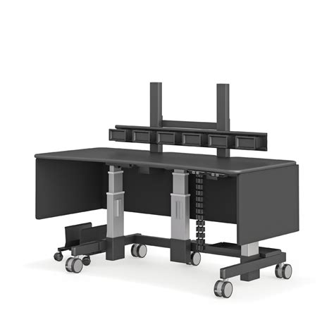 electric lift computer stand desk afcindustries