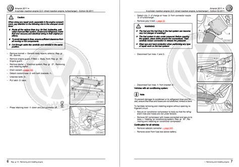 volkswagen amarok service  repair manual zofti  downloads