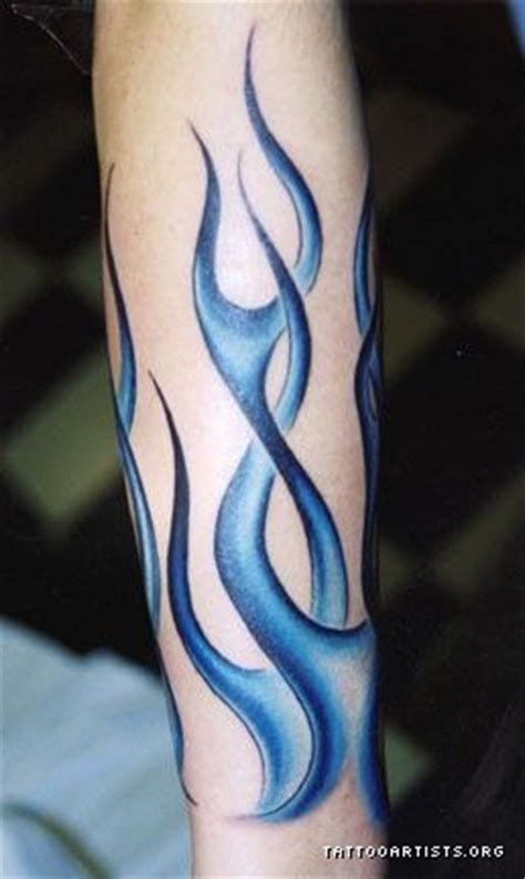 blue flame tattoo blue tattoos on ghost flames artists org