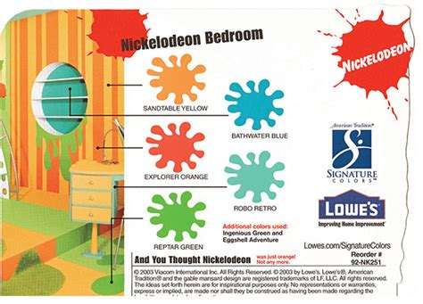 nickelodeon for lowes on behance