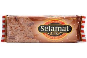 Selamat Biscuit Sandwich Chocolate 900gr selamat biscuit chocolate mocha biscuit 6oz