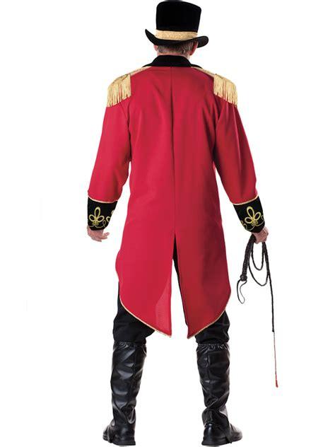 mens ringmaster costume deluxe mens ringmaster costume express delivery australia