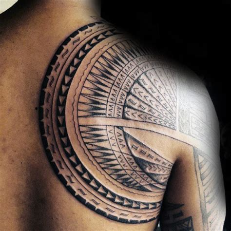 tribal shoulder blade tattoos 90 designs for tribal ink ideas