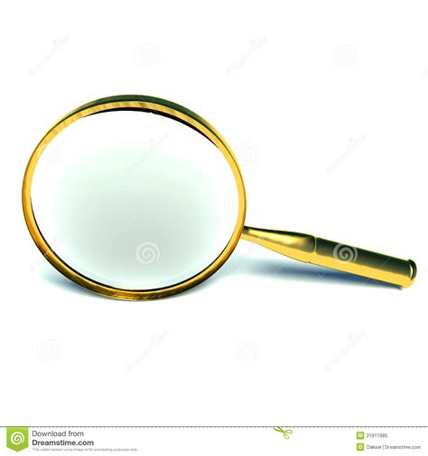3d Magnifying Glass 3d magnifying glass royalty free stock photo image 21911685